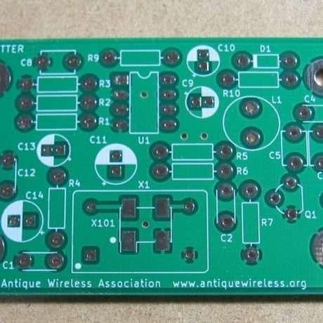 1 AWA AM Transmitter PCB