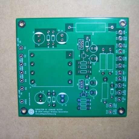AWA Cap DC Leakage Tester Bare PCB Rev A