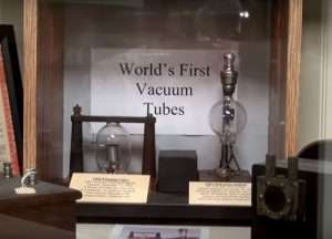 First Vacuum Tubes